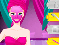 Barbie Diamond Spa Makeover Game