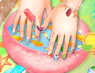 Summer Nails Spa Game